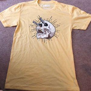 Other - BeastWorx barbell skull t-shirt